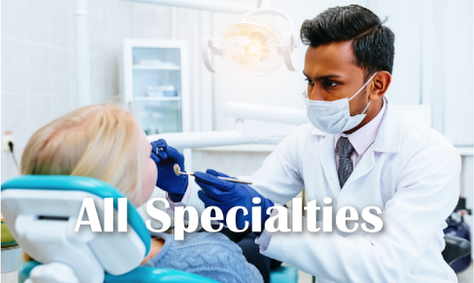 All Specialties!
